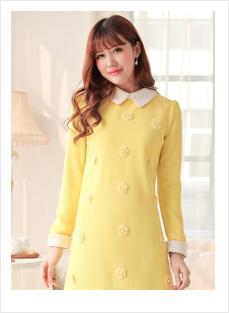 黄色连体衣